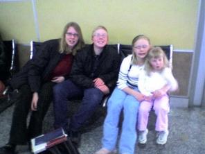 0105080828 Britta Leaving for Colorado 1-5-2008