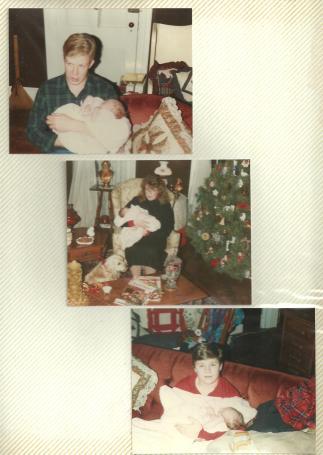 1st niece with Kreston, Jennifer, & Todd