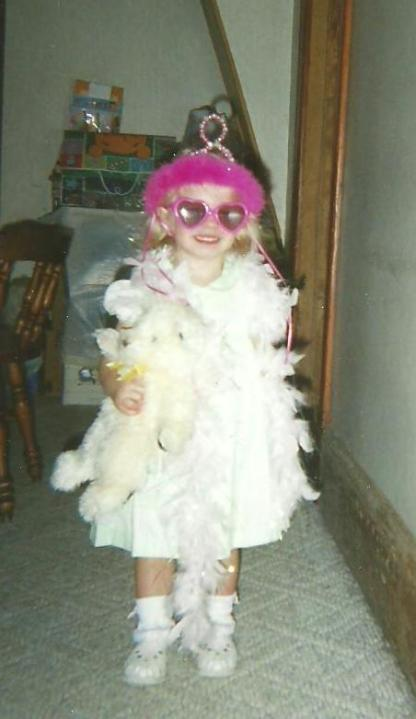 Our little Diva!