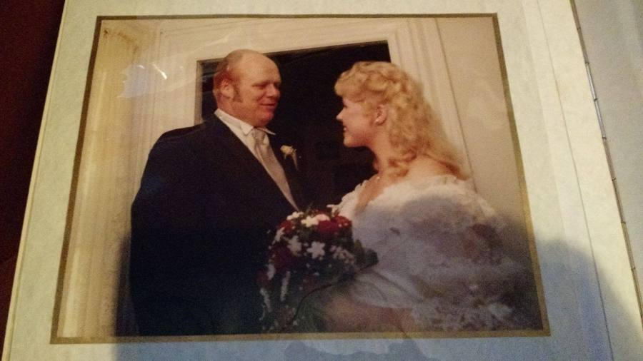 October 20, 1984 - Dad and I before the wedding