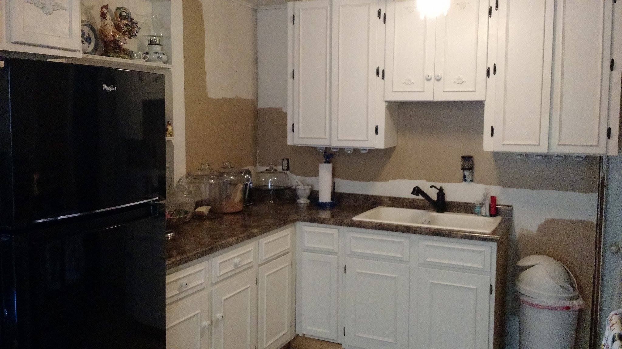 New paint color in kitchen - 11-16-2017